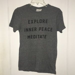 XS TEE EXPLORE INNER PEACE MEDITATE